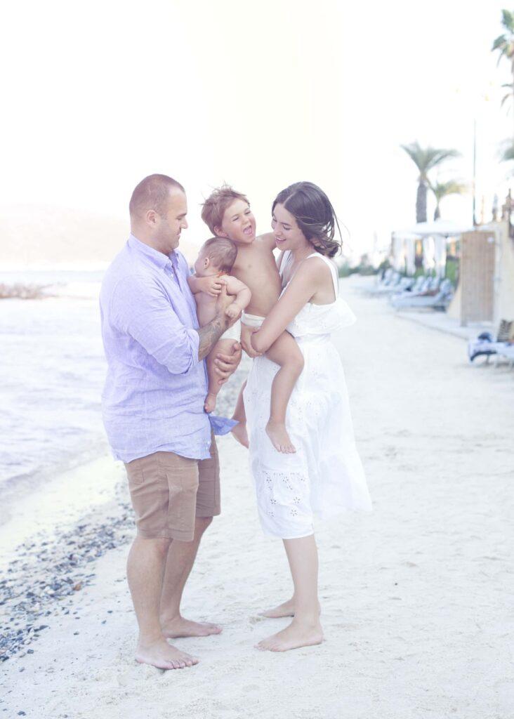 Aile Bebek Fotoğrafı